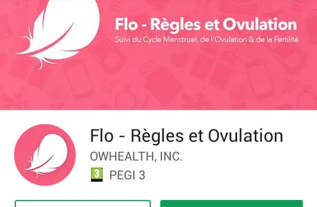 [Avis] L'application menstruel Flo