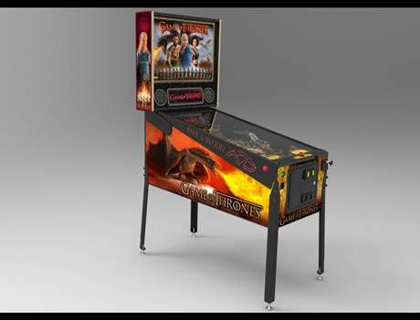 en savoir plus jeux stern pinball annonce son flipper game of thrones. Black Bedroom Furniture Sets. Home Design Ideas