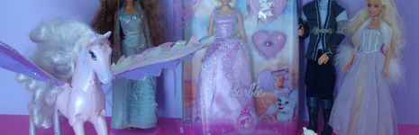 Collection de poup es barbie films fairytopia vintage jem - Film barbie et le cheval magique ...