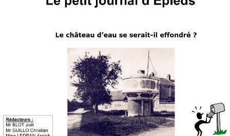 Le petit journal d'Epieds d'avril 2009 (n°03 new).