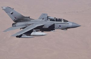 Royal Air Force have continued to conduct air operations in