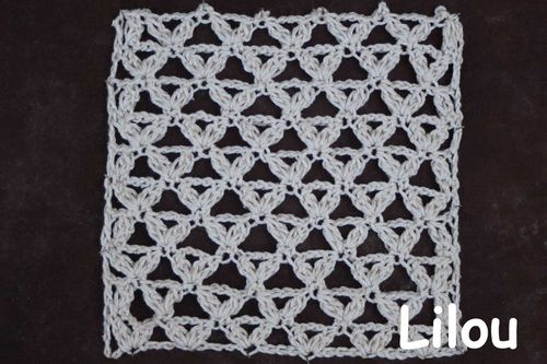 Crochet Points Fils De Lilou Tricot Crochet Dentelle