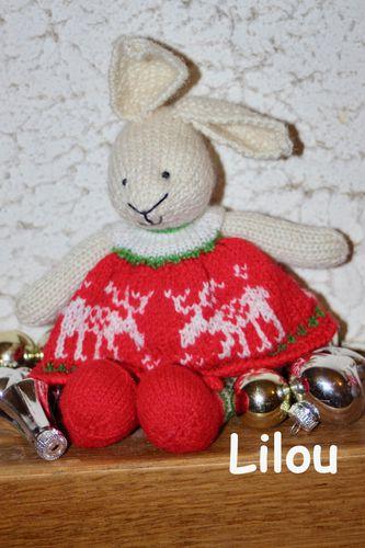 Amigurumi lapin tricot 1/3 / Miss Bunny amigurumi knit (english ... | 500x333