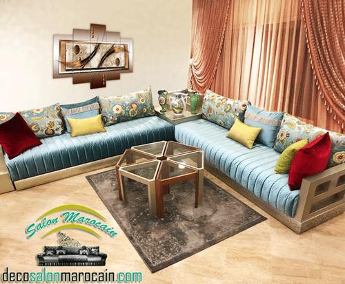 salon marocain traditionnel - Salon marocain moderne 2014