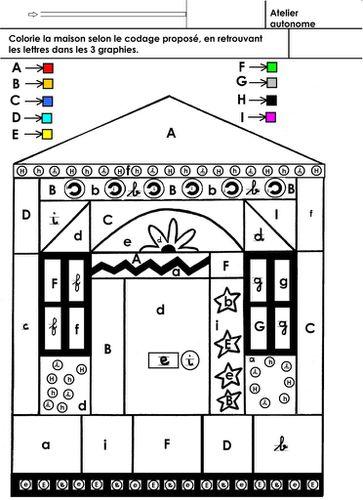 Coloriage Ecole Maternelle Gellow