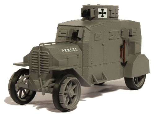 4X4 JEEP Armored Car automitrailleuse VOITURE 1//43 Militaire ATLAS
