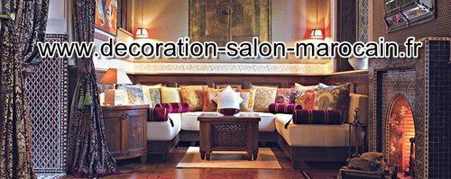salon marocain - Salon marocain moderne