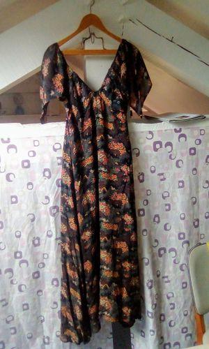 Et la robe de soirée...