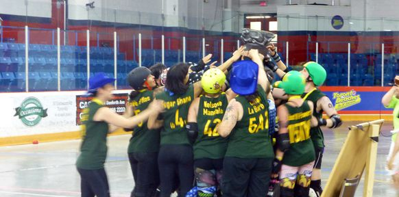 Roller derby 3r venez participer une pratique for Premier garage derby