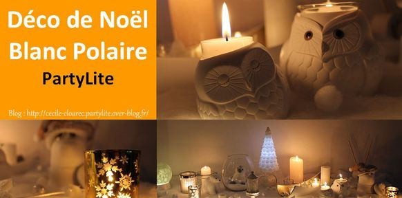 partylite catalogue noël 2017