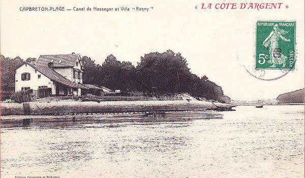 Villa Sur Carte Postale  Ef Bf Bddition Clb