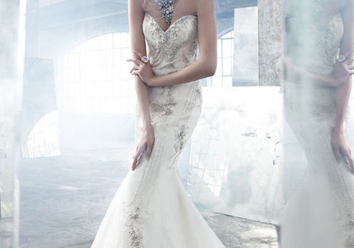 Romantic wedding dresses fashion blogs happiness in for How to clean your own wedding dress