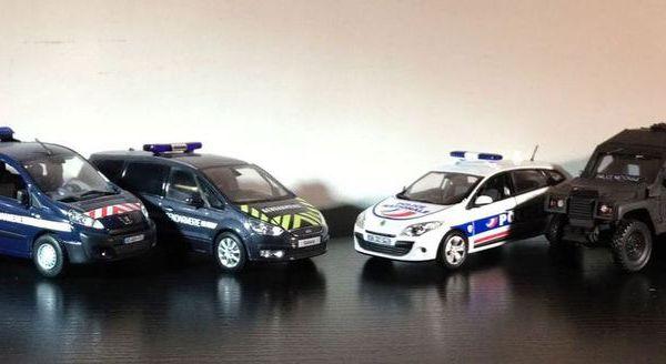 les miniatures de gendarmerie