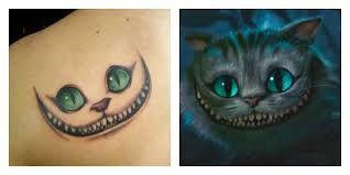 Tatouage chat alice au pays des merveilles free chat en tatouage concernant tatouage chat - Tatouage chat alice au pays des merveilles ...
