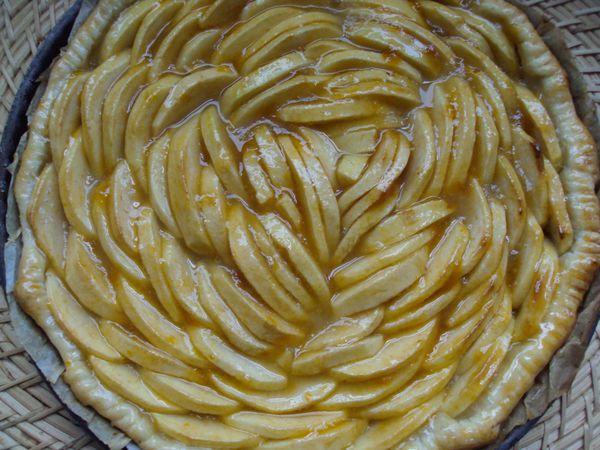 Tarte aux pommes très très « pomme »