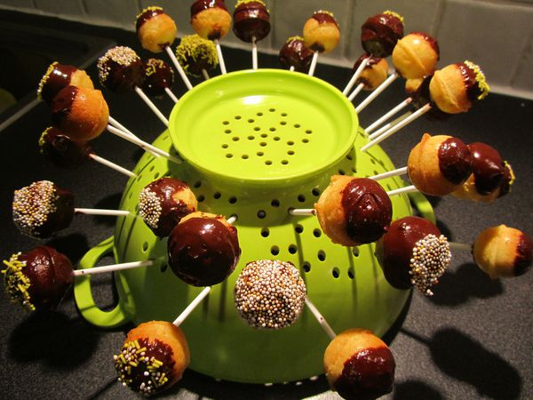 Cake pops faciles