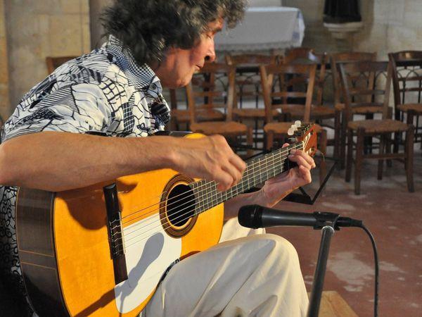 Yerbita - concert dans l'église