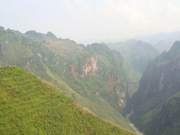 Le 16ème jour et 17eme….Les montagnes et le Nord…  suite et fin Meo Vac – Dong van – Ha Giang - Hanoï