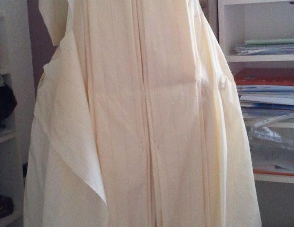 Robe à la Française 1770-5 18th montage Janet Arnold