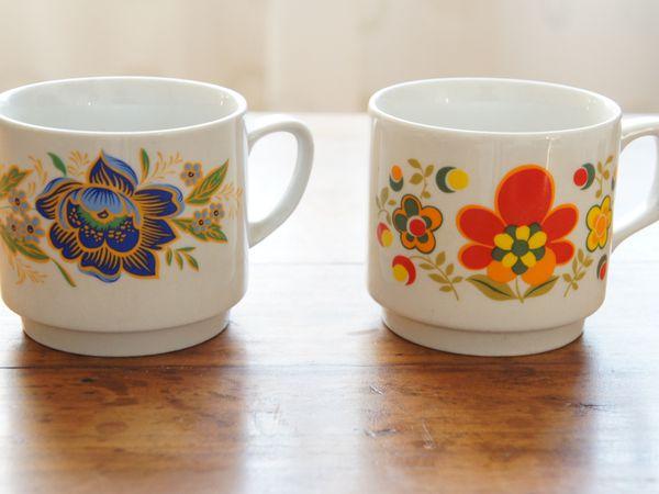 Vendu - 4 tasse monopoli vintage rétro mug tasse monopoli tognama
