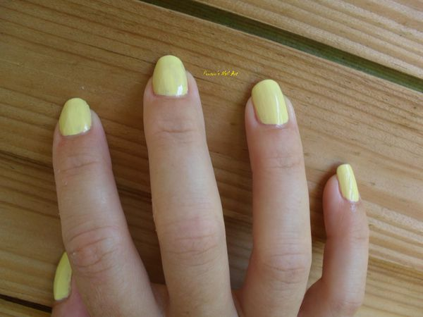 Vernis Six : jaune
