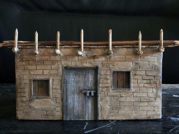 La remise de la petite maison dans la prairie (maquette)