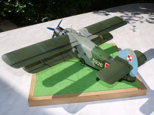 ANTONOV AN-2 &quot&#x3B;colt&quot&#x3B; polonais 1/48