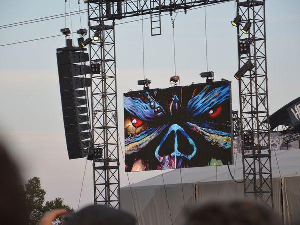 Hellfest - Iron Maiden et les autres