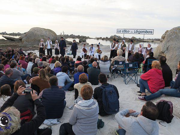 240 ! Ils étaient 240 spectateurs à s'être déplacés sur la côte des Légendes, ce lundi 14 août...