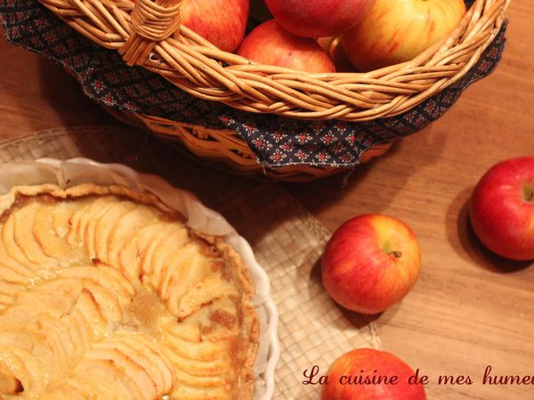 La tarte pomme cannelle de Belladonna Touque
