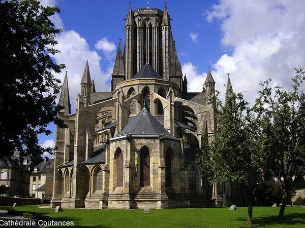Cathédrale de Coutances et église Saint-Pierre de Coutances