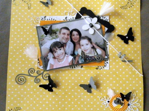 page scrap famille