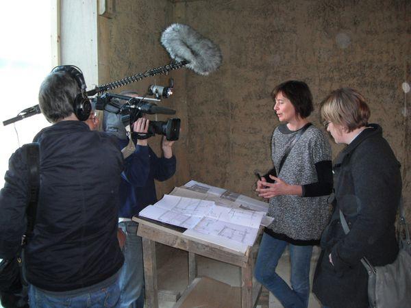 RTL interview notre équipe d'architectes