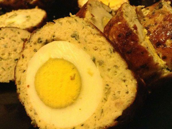 Roulade de poulet haché surprise façon mon fils *Suhayb*