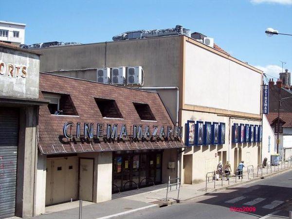 l'ancien cinéma cinéma mazarin extérieur et intérieur