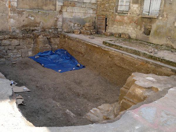 Fouilles Archéologiques A La Charité-sur-Loire...MAJ