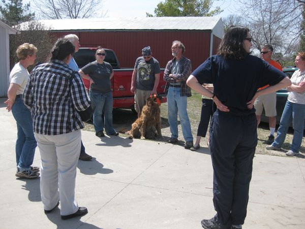 Homegrown Lifestyle participants enjoyed seeing all the things they could be doing to get the most out of their land!