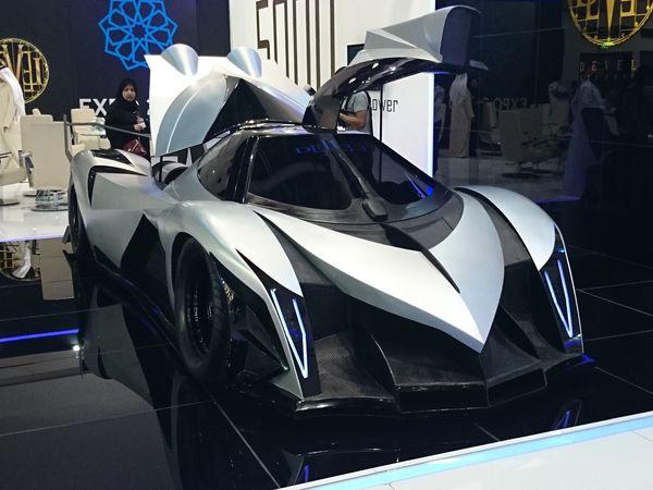 Un monstre automobile de 4515ch !!!
