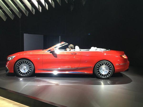 Mercedes-Maybach S 650 cabriolet...impressionnante!