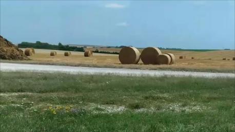 Des roues en paille . . . ?!