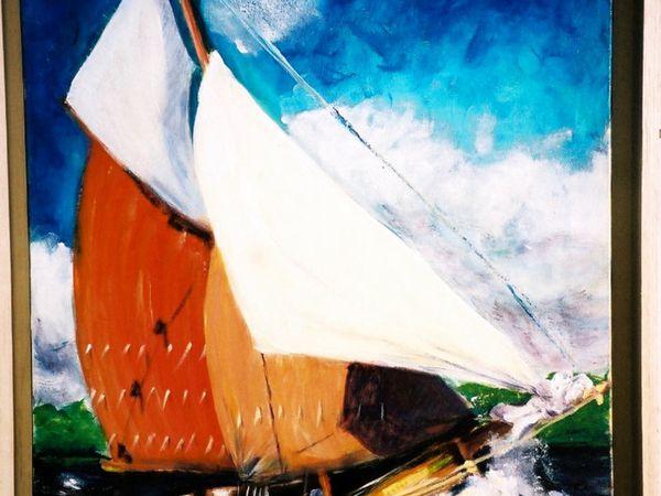 Peinture : bateaux