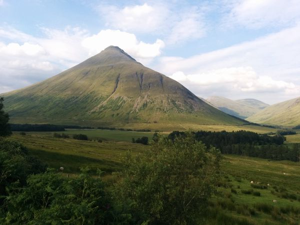 Glencoe Valley : The Three Sisters