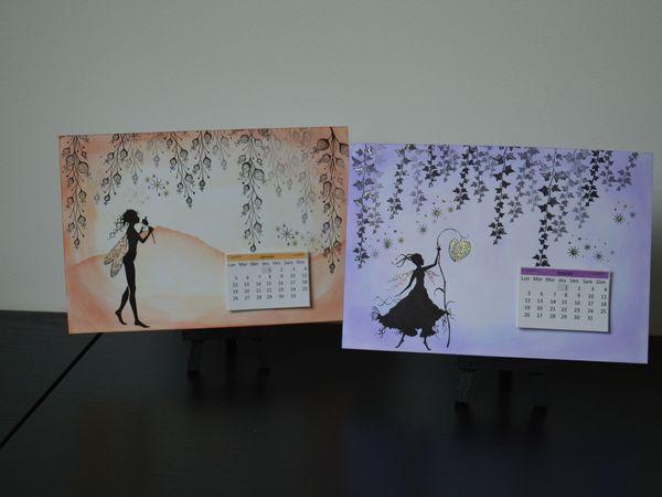 calendrier Lavinia Stamps