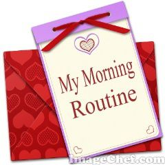 My Morning routine !!