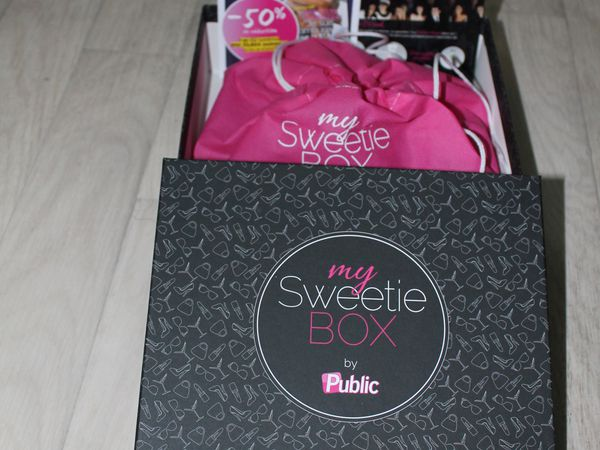 My sweetie box by Public - mars 2013