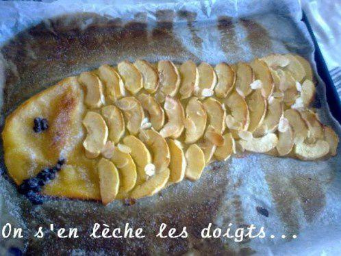 """Les recettes aux pommes de Laeticia du blog """"On s'en lèche les doigts""""."""