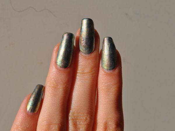 Le jour où j'ai tenté l'antique nail