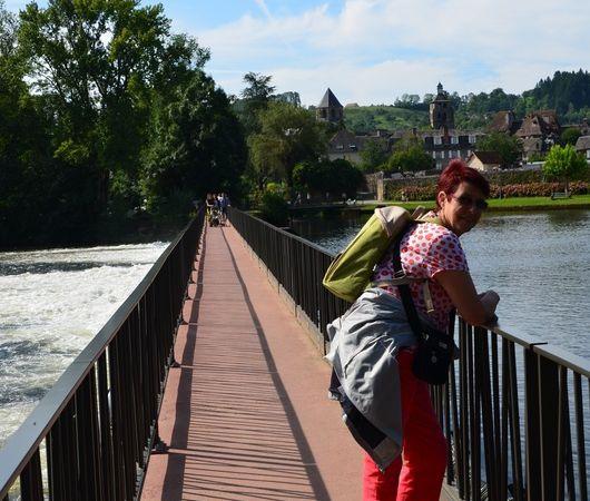 Beaulieu sur Dordogne (Limousin en camping-car)