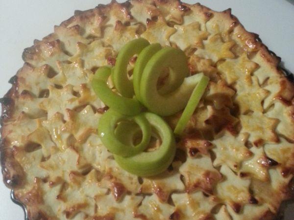 Tarte aux pommes, cannelle