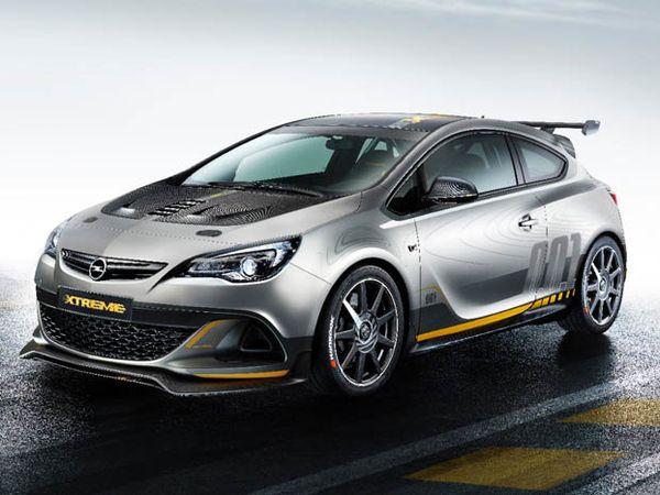 Opel Astra OPC Extreme... lâchez le fauve !